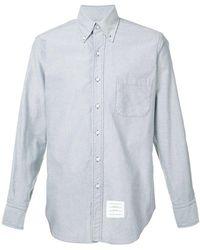 Thom Browne - Patch Pocket Shirt - Lyst