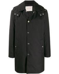 Mackintosh フーデッドコート - ブラック