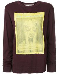 Tu Es Mon Tresor - Long Sleeved T-shirt - Lyst