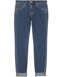 Burberry Skinny Denim Jeans - Blauw