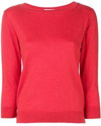 Snobby Sheep - 3/4 Sleeve Sweater - Lyst