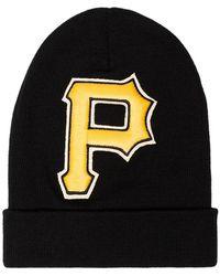 Lyst - Gorro Pittsburgh Pirates Gucci de hombre de color Negro - 3 ... 2cc4ee9900c