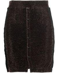 Kappa Banda Sparkle Mini Skirt - Brown