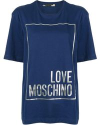 Love Moschino - Love Tシャツ - Lyst