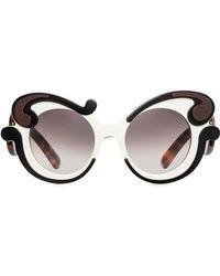 Prada - Baroque-style Sunglasses - Lyst