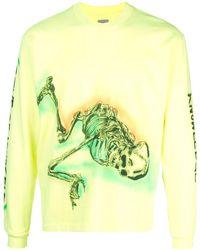 Yeezy Wes Land Skeleton Top - Yellow