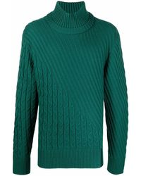 Karl Lagerfeld Cable-knit Jumper - Green