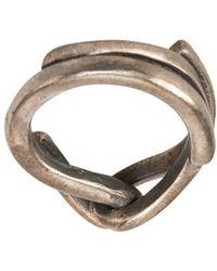 Tobias Wistisen Thick Ring - Metallic