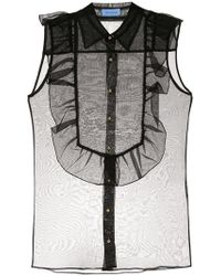 Macgraw - Bonnie Sleeveless Sheer Blouse - Lyst