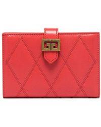 Givenchy Gv3 Bi-fold Wallet - Pink