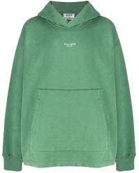 Acne Studios Sweater Met Logo - Groen