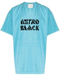 Nicholas Daley Astro Black Tシャツ - ブルー
