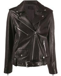 RTA ライダースジャケット - ブラック