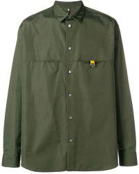 OAMC - Tab-detail Shirt - Lyst