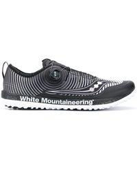 White Mountaineering Boa ローカット スニーカー - ブラック
