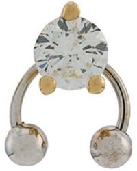Delfina Delettrez - Bijou d'oreille Two In One en or 18ct - Lyst