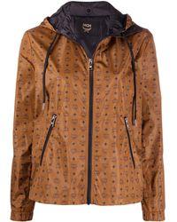 MCM ロゴ ジャケット - ブラウン