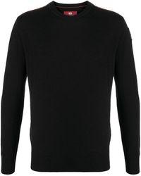 Parajumpers ロゴパッチ セーター - ブラック