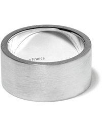 Le Gramme Le 15 Grammes Ribbon Ring - Metallic