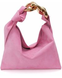 JW Anderson Hobo チェーン ハンドバッグ S - ピンク