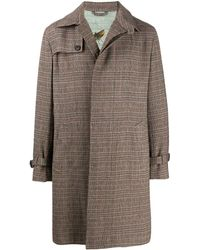 Etro - Single Breasted Trench Coat - Lyst