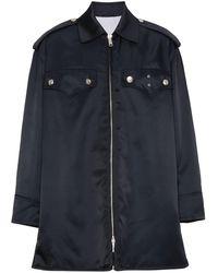 CALVIN KLEIN 205W39NYC ポケット ジャケット - ブルー