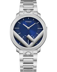 Fendi Наручные Часы Run Away - Синий