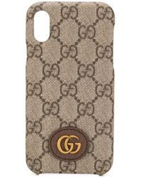 Gucci Чехол Ophidia GG Для Iphone Xs Max - Многоцветный