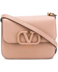 Valentino Vスリング ショルダーバッグ S - ピンク