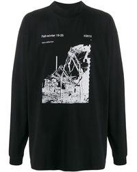 Off-White c/o Virgil Abloh - ロゴ ロングtシャツ - Lyst