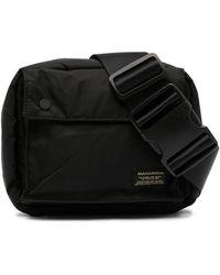 Maharishi Logo Patch Belt Bag - Black