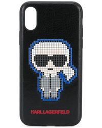 Karl Lagerfeld - Pixel Karl Iphone X/xs ケース - Lyst