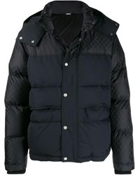 Gucci GG Padded Hooded Jacket - Black