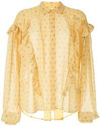 Preen By Thornton Bregazzi Floral print blouse - Multicolore
