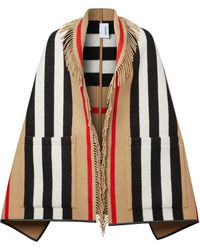 Burberry Poncho Icon - Multicolore