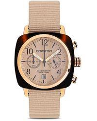 Briston Наручные Часы Clubmaster Classic Chronograph 42 Мм - Металлик