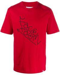 Facetasm ロゴ Tシャツ - レッド