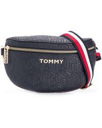 Tommy Hilfiger Gesteppte Gürteltasche - Mehrfarbig