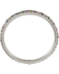 Ileana Makri - Thread Rainbow Band Ring - Lyst