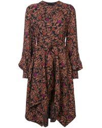 Proenza Schouler - Pointed Hem Dress - Lyst