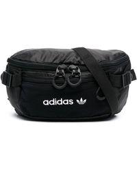 adidas Logo-print Belt Bag - Black