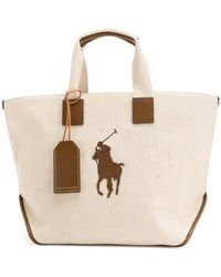 Polo Ralph Lauren - Big Pony Tote Bag - Lyst