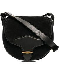 Isabel Marant Botsy Saddle Bag - Black