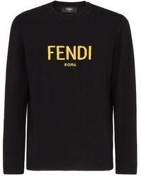 Fendi Roma プルオーバー - ブラック