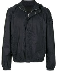 Prada Hooded Down-filled Shell Jacket in Black for Men - Lyst 36937c2b3