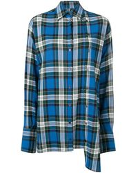 ROKH - オーバーサイズ チェックシャツ - Lyst