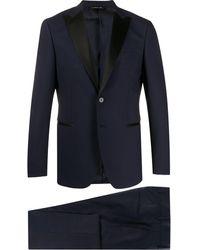 Tonello ツーピース ディナースーツ - ブルー
