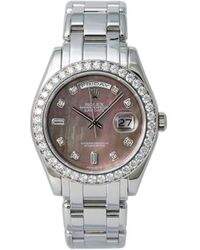 Rolex Orologio Day-Date 39mm Pre-owned 2001 - Metallizzato