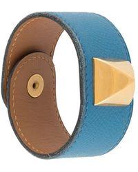 Hermès Pre-owned Studded Bracelet - Blue