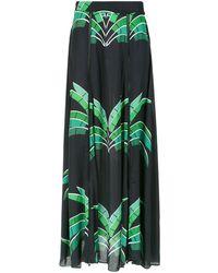Amir Slama - Tropical Print Maxi Skirt - Lyst